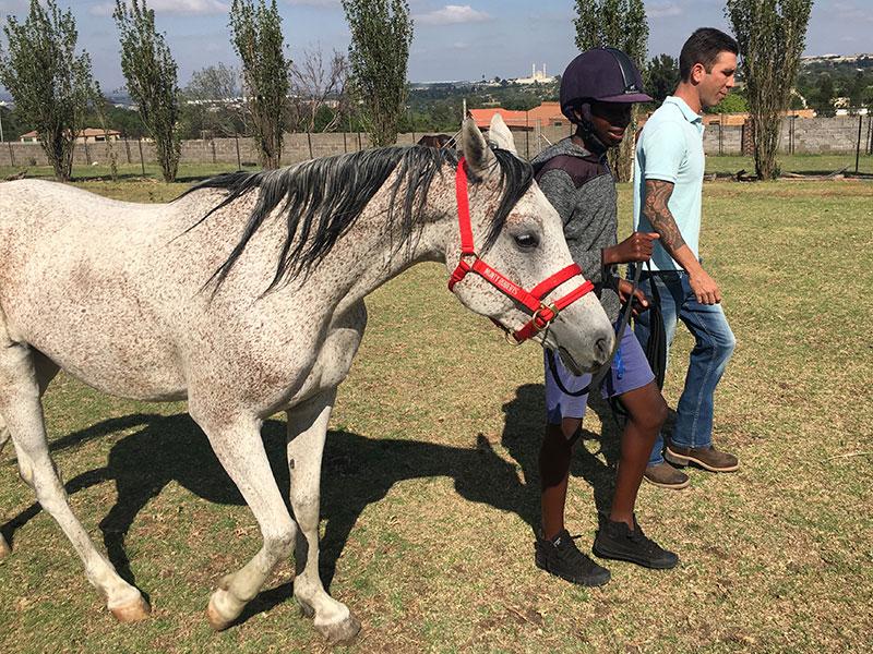 Equine Kids program - equine-assisted youth leadership program